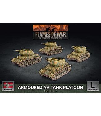 Flames of War Armoured AA Tank Platoon (Plastic)