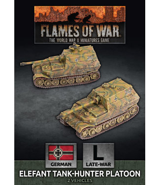 Flames of War Elefant Tank-Hunter Platoon