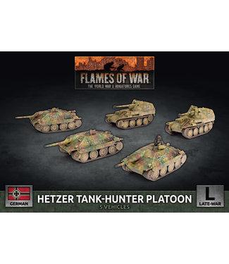Flames of War Hetzer Tank-Hunter Platoon (Plastic)