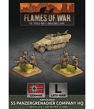 Flames of War Armoured SS Panzergrenadier Company HQ