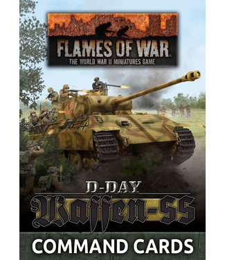 Flames of War D-Day: Waffen-SS Command Card Pack