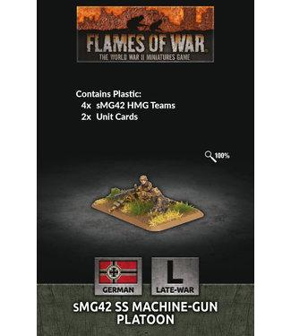 Flames of War sMG42 SS Machine-gun Platoon
