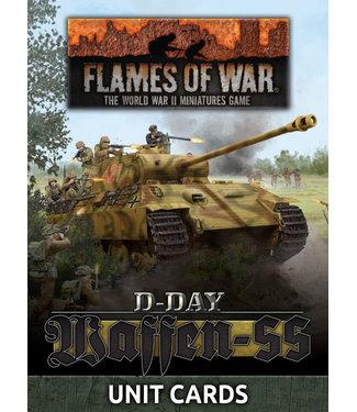 Flames of War D-Day: Waffen-SS Unit Card Pack