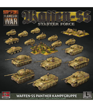 """Flames of War German LW """"SS Panther Kampfgruppe"""" Army Deal"""