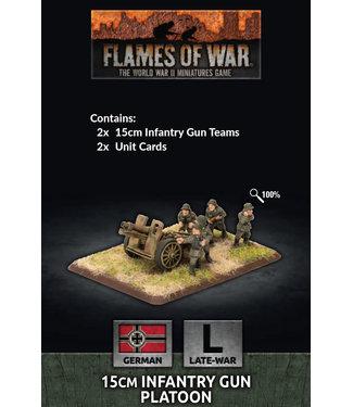 Flames of War 15cm Infantry Gun Platoon