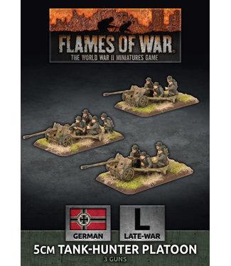 Flames of War 5cm Tank Hunter Platoon (Plastic)