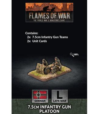 Flames of War 7.5cm Infantry Gun Platoon