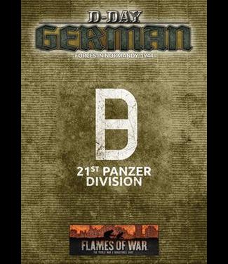 Flames of War D-Day: 21st Panzer