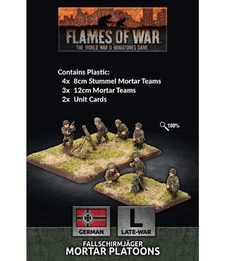 Flames of War Fallschirmjager 8cm/12cm Mortar Platoon