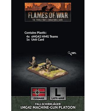Flames of War Fallschirmjager HMG Platoon