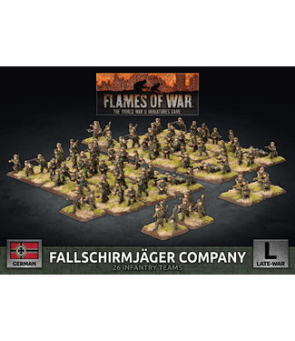 Flames of War Fallschirmjäger Company (plastic)