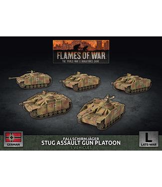 Flames of War Fallschirmjäger StuG Assault Gun Platoon