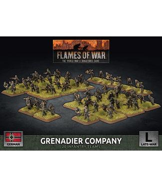 Flames of War Grenadier Company (plastic)