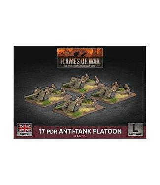 Flames of War 17 pdr Anti-tank Platoon (Plastic)