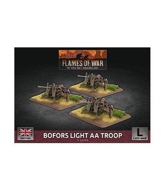 Flames of War Bofors Light AA Troop (Plastic)