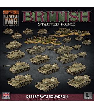 Flames of War British Starter Force:  Desert Rats Squadron