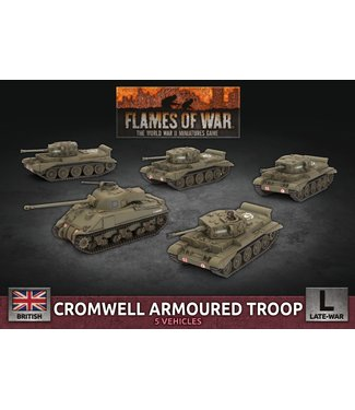 Flames of War Cromwell Armoured Troop (Plastic)