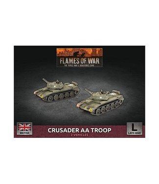 Flames of War Crusader AA Troop (Plastic)