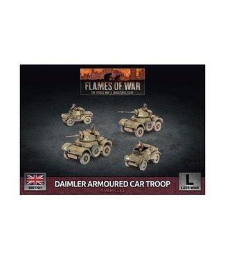 Flames of War Daimler Armoured Car Troop (Plastic)