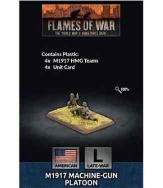 Flames of War M1917 Machine-gun Platoon