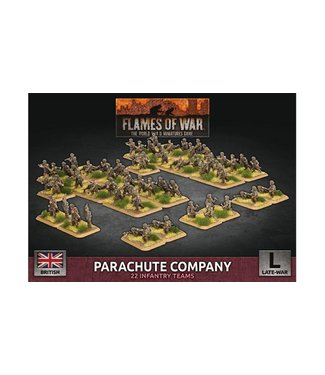 Flames of War Parachute Company (Plastic)
