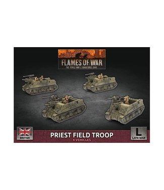 Flames of War Priest Field Troop (Plastic)
