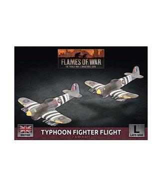 Flames of War Typhoon Fighter Flight (Plastic)