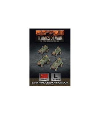 Flames of War BA-64 Armoured Car Platoon (Plastic)
