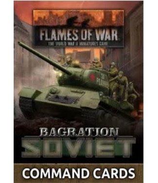 Flames of War Bagration: Soviet Command Cards