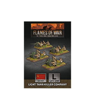Flames of War Light Tank-Killer Company (Plastic)