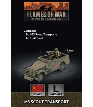 Flames of War M3 Scout Transport