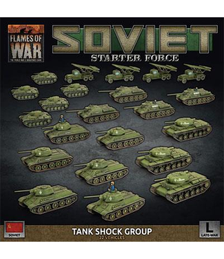 Flames of War Soviet Tank Shock Group Army Deal