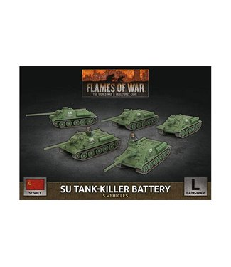 Flames of War SU Tank-Killer Battery (Plastic)