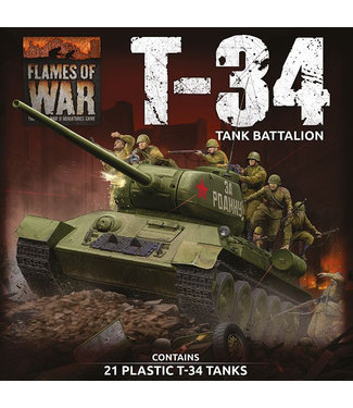 Flames of War T-34 Battalion Army Deal