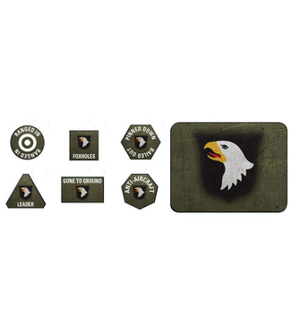 Flames of War 101st Airborne Division Tokens and Objectives