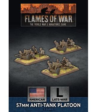 Flames of War 57mm Anti-Tank Platoon (Plastic)