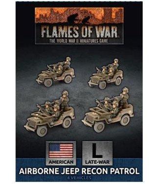 Flames of War Airborne Jeep Recon Patrol (Plastic)