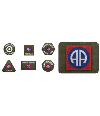 Flames of War 82nd Airborne Division Tokens and Objectives