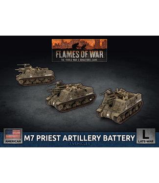 Flames of War M7 Priest Artillery Battery (Plastic)