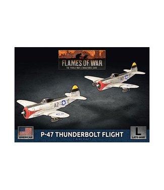 Flames of War P-47 Thunderbolt Fighter Flight