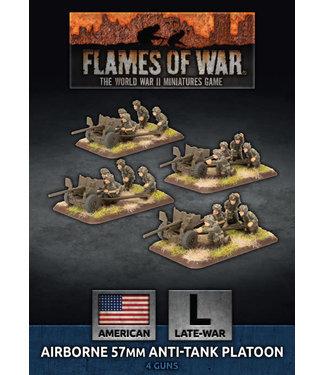 Flames of War Parachute 57mm Anti-Tank Platoon (Plastic)