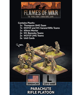 Flames of War Parachute Rifle Platoon (Plastic)