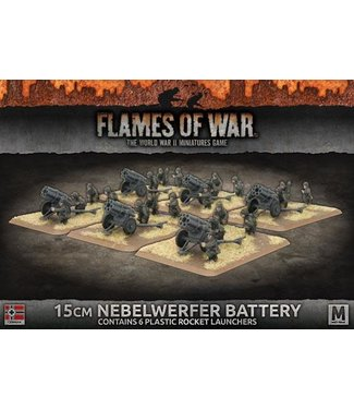 Flames of War 15cm Nebelwerfer Battery (Plastic)