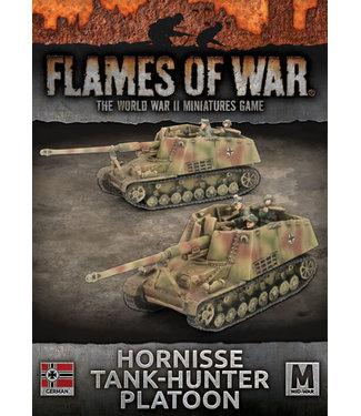 Flames of War Hornisse Tank Hunter Platoon