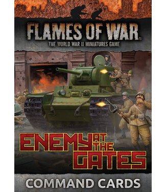 Flames of War Enemy at the Gates Command Cards