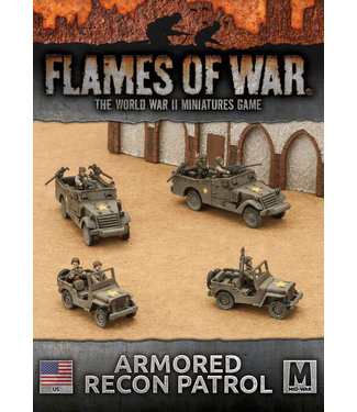Flames of War Armored Recon Patrol