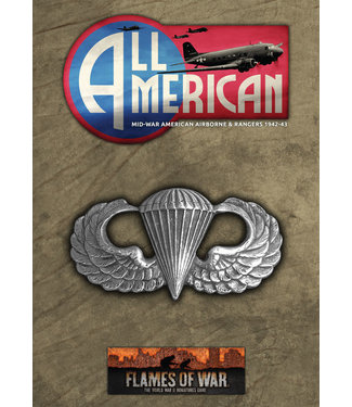 Flames of War All American: Mid War American Airborne & Rangers - 1942-43