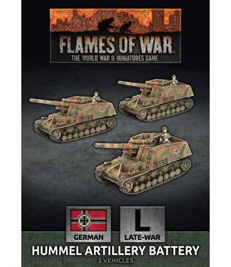 Flames of War Hummel Artillery Battery