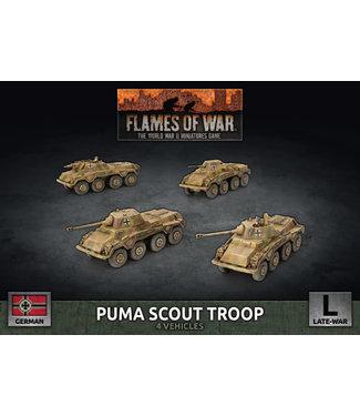 Flames of War Puma Scout Troop (Plastic)