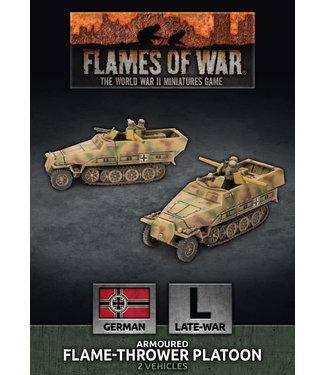 Flames of War Sd Kfz 251 Flamethrower Platoon